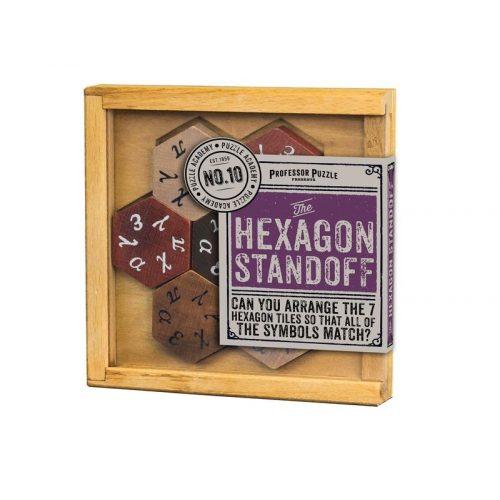 The Hexagon Standoff Professor Puzzle logikai játék