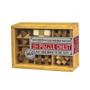 The Puzzle Chest Professor Puzzle fa ördöglakat készlet