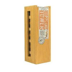 Toppling Tower Professor Puzzle fa ügyességi játék