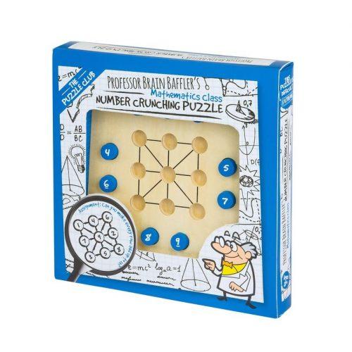 Professor Brain Baffler's Number Crunching Puzzle logikai játék