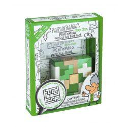 Professor Egg Head's Pentomino Puzzle and Book Pack logikai játék