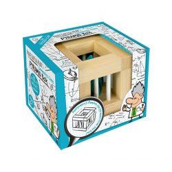 Professor Egg Head's Pyramid Box logikai játék