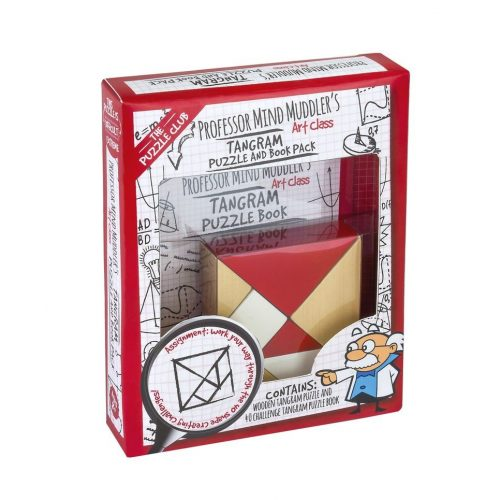 Professor Mind Muddler's Tangram Puzzle and Book Pack logikai játék