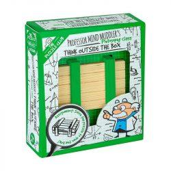 Professor Mind Muddler's Think Outside the Box Puzzle logikai játék