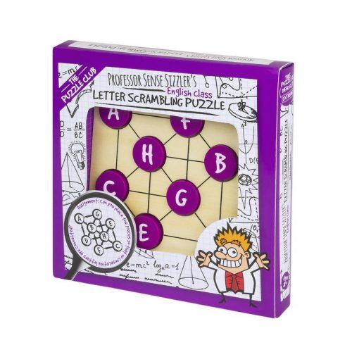 Professor Sense Sizzler's Letter Scrambling Puzzle logikai játék