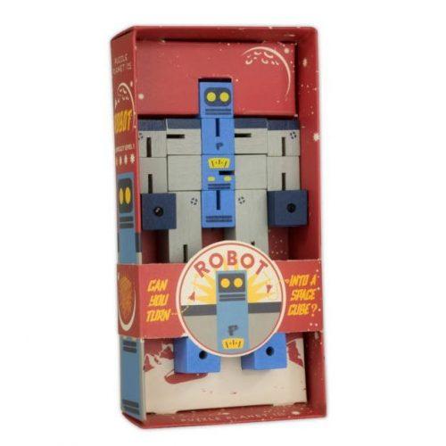 Puzzle Planet Robot logikai játék