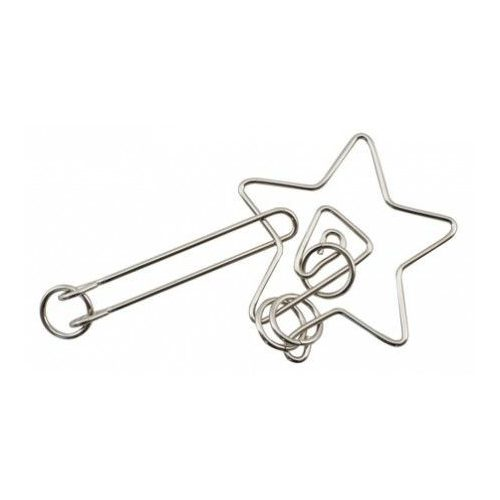 IQ Buster Wire Csillag Cheatwell fém ördöglakat