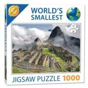 Extrém mini Puzzle Macchu Picchu kirakó