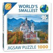 Extrém mini Puzzle Neuschwanstein kastély kirakó