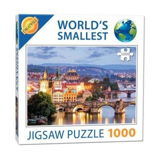 Extrém mini Puzzle Prága kirakó