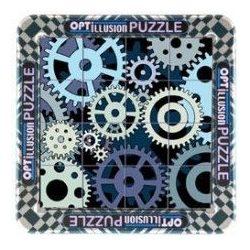 Optillusion  Fogaskerekek Cheatwell optiki illúzió logikai játék