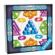 3D Optillusion Tile Puzzles Forma optikai illúzió puzzle