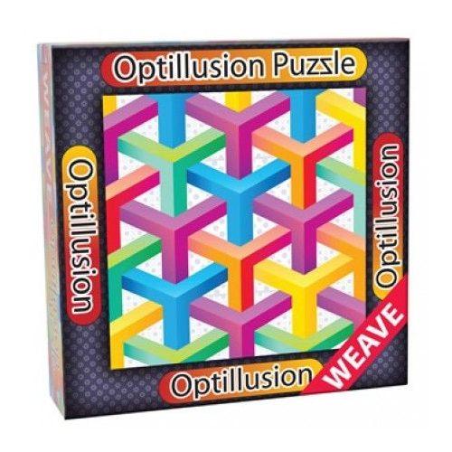 3D Optillusion Tile Puzzles Yoptikai illúzió puzzle