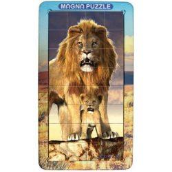 3D Magna Portrait Oroszlán Cheatwell mágneses kirakó