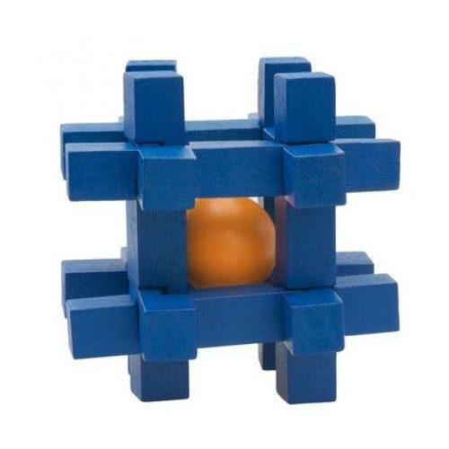 IQ Buster Ball-Traps Kék Cella Cheatwell fa ördöglakat