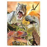 Dinoszaurus 3D puzzle 48 db-os Riviera Games