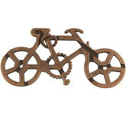 Kerékpárral a Föld körül fém ördöglakat Riviera Games