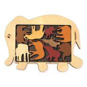 Elefánt parádé logikai játék - Constantin Arrangement