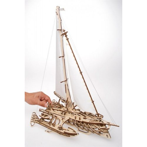 Trimarán hajó mechanikus modell - Ugears