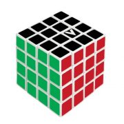 V-CUBE 4x4 versenykocka, egyenes, fehér