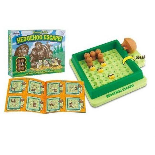 Hedgehog Escape logikai játék