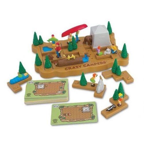Crazy Campers logikai játék