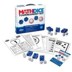 Math Dice Tournament kit társasjáték