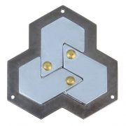 Hexagon - Cast - fém ördöglakat