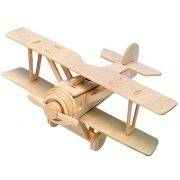 Gepetto's Workshop - Duplaszárnyú repülő - 3D fa puzzle