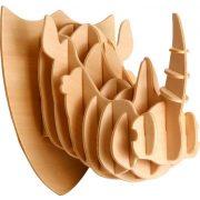 Gepetto's Workshop - Rinocéroszfej - 3D fa puzzle