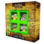 Puzzles collection JUNIOR Wooden - fa ördöglakat
