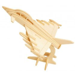 Gepetto's Workshop - Harci repülőgép- 3D fapuzzle