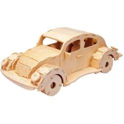 Gepetto's Workshop - Autó - 3D fa puzzle