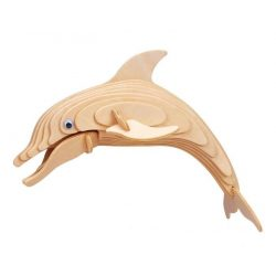 Gepetto's Workshop - Delfin - 3D fa puzzle