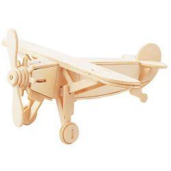 Gepetto's Workshop - Repülőgép - 3D fa puzzle