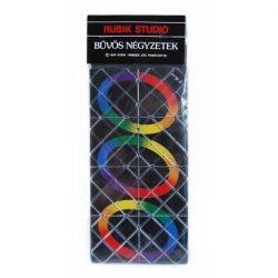 Rubik karikavarázs, 8 elemű logikai játék - Rubik