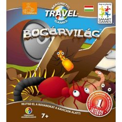 Magnetic Travel Bogárvilág - Busy Bugs logikai játék