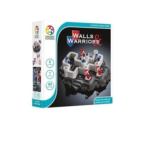 Erőd - Walls & Warriors - Smart Games logikai játék