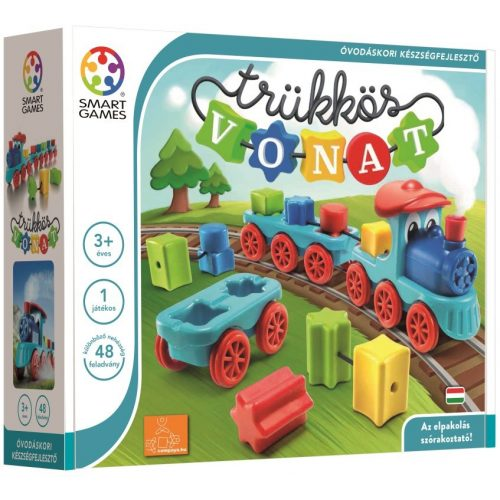 Trükkös vonat - Brain Train Smart Games