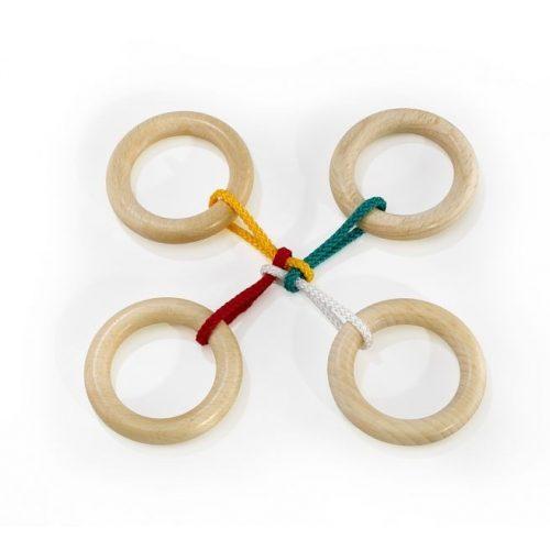 Medium String Puzzle - Quatro - kombinált ördöglakat