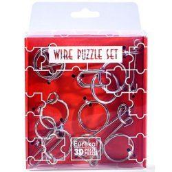 Mini Wire Puzzle Szett Narancs - Cast - fém ördöglakat