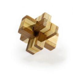 Knotty - bambusz puzzle ördöglakat