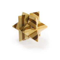 Superstar - bambusz puzzle ördöglakat
