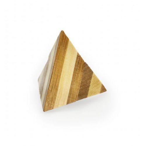 Pyramid - bambusz puzzle ördöglakat