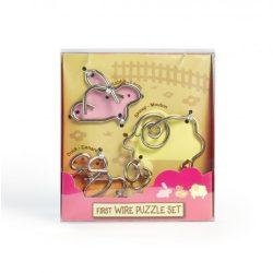 First Wire Puzzle Szett - Állatok 1 - Cast - fém ördöglakat