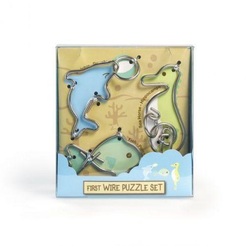 First Wire Puzzle Szett - Vízi állatok - Cast - fém ördöglakat