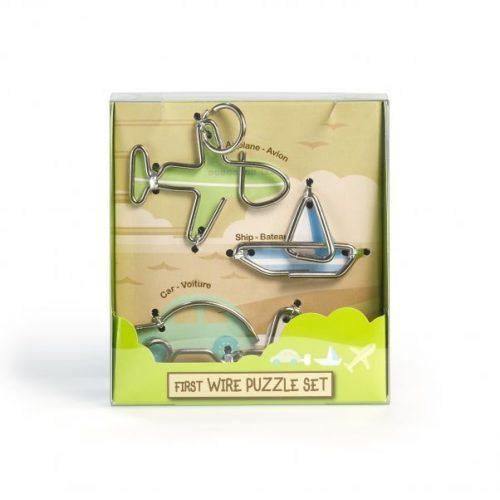 First Wire Puzzle Szett - Járművek - Cast - fém ördöglakat