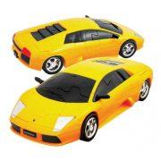 Lamborghini Murciélago -sárga - 3D Puzzle