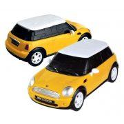 Mini Cooper - sárga - 3D Puzzle