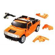 Hummer H2 - Orange - 3D Puzzle